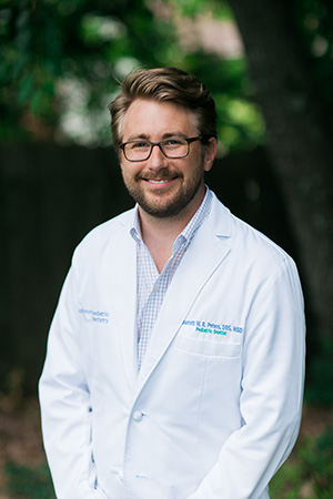 Dr. Barrett Peters at Piedmont Pediatric Dentistry in Charlottesville, Waynesboro and Crozet, VA