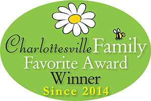Charlottesville Family Favorite Award Winner 2014 - 2017